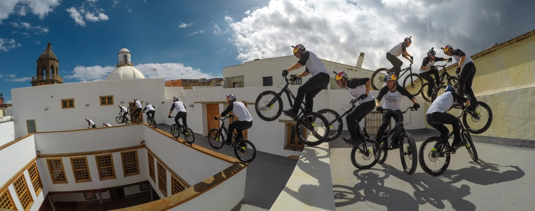Danny MacAskill Filming Cascadia // Photos: GoPro / Red Bull Content Pool