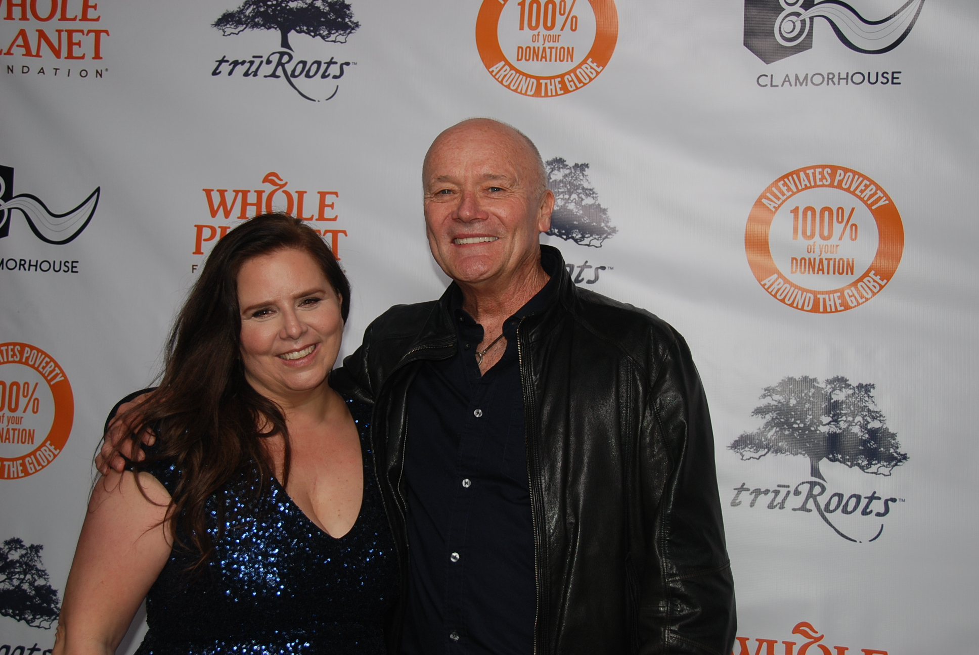 Whole Planet Foundation Pre Grammys with Creed Bratton