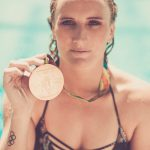 Olympic water polo Gold medal winner Kaleigh Gilchrist