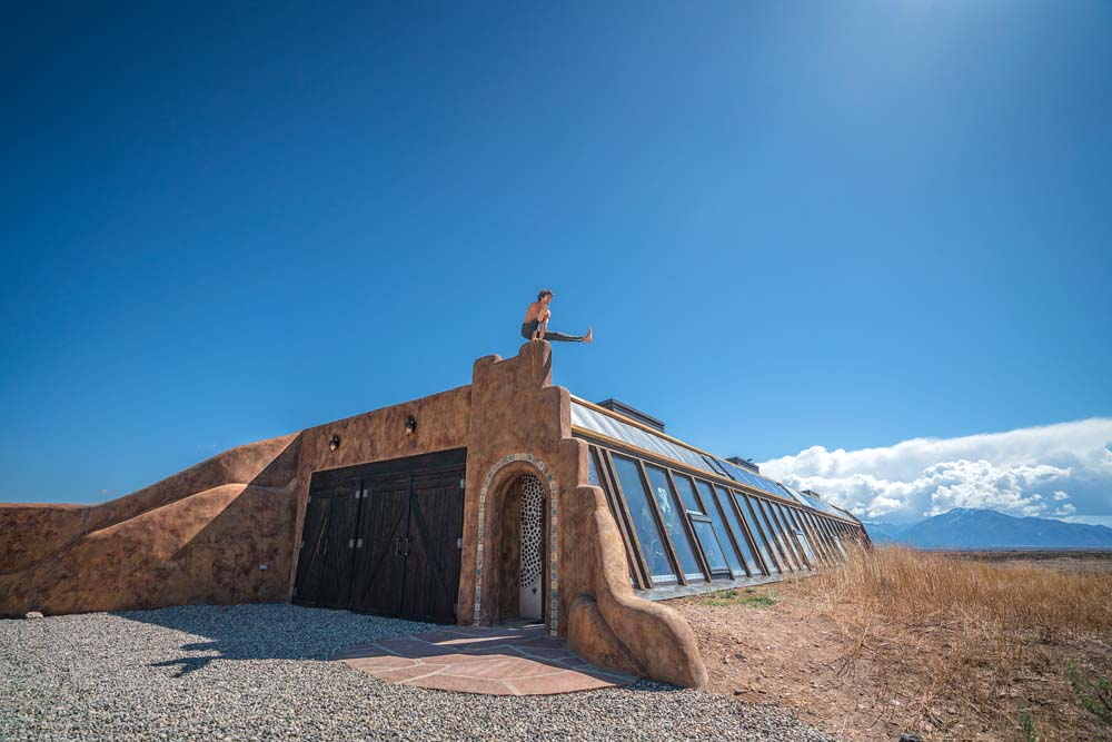 Earthship Credit: Russell Holliday and