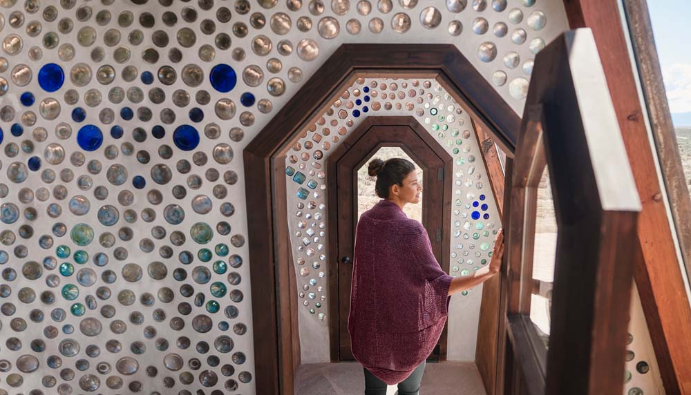 Earthship Credit: Russell Holliday and prAna