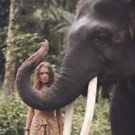 Bali elephant travel photography Paris Verra