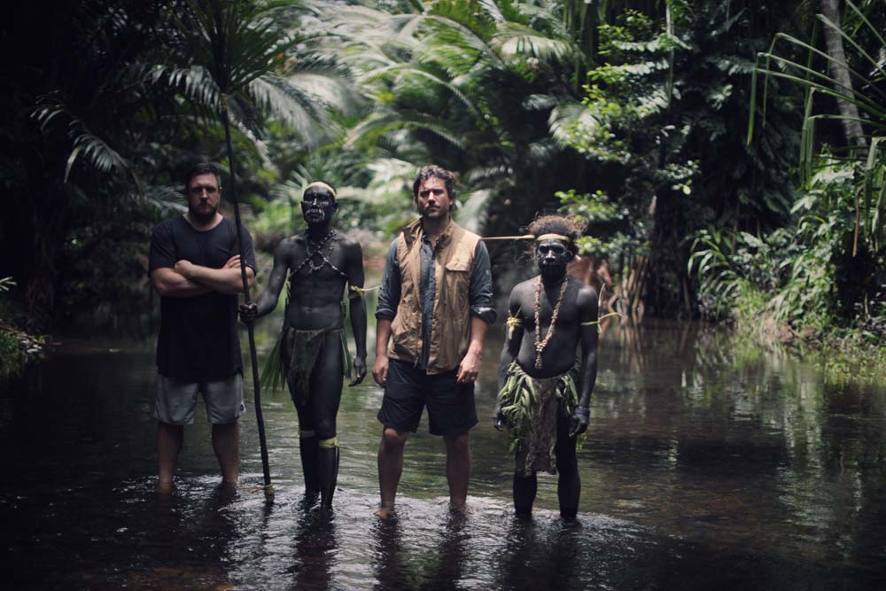 RYOT Co-founders Bryn Mooser and David Darg in Papua New Guinea