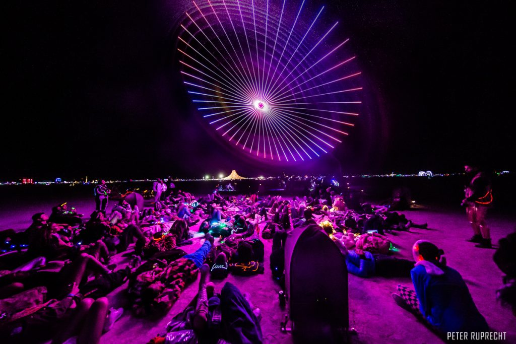 Burning Man Paraluna