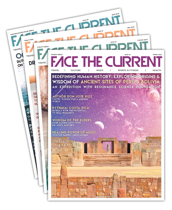 Face the Current Conscious Media and Lifestyle Magazine