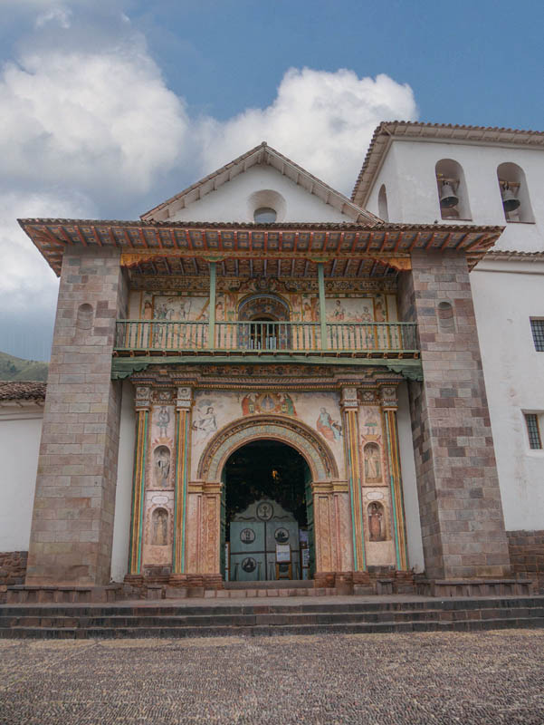 Church of San Pedro Apostol of Andahuaylillas Peru