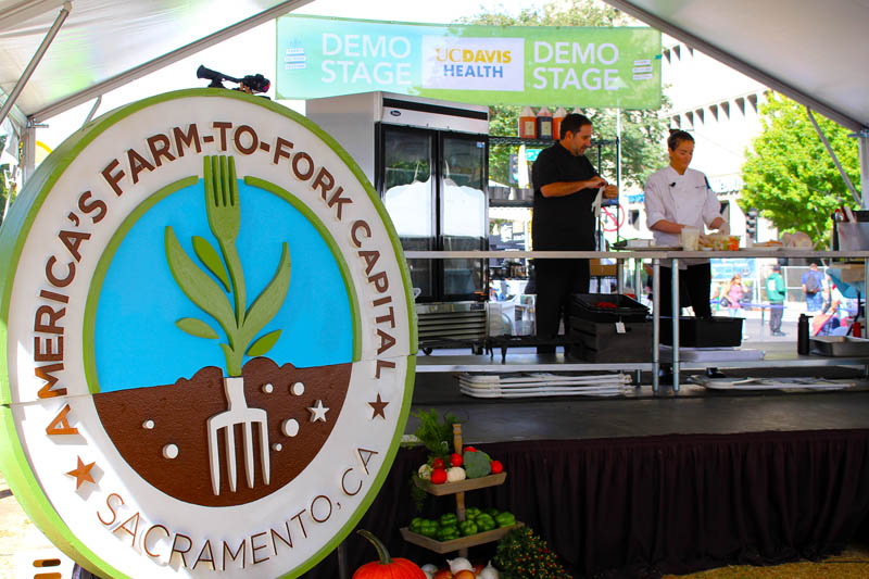 Farm to Fork Sacramento California
