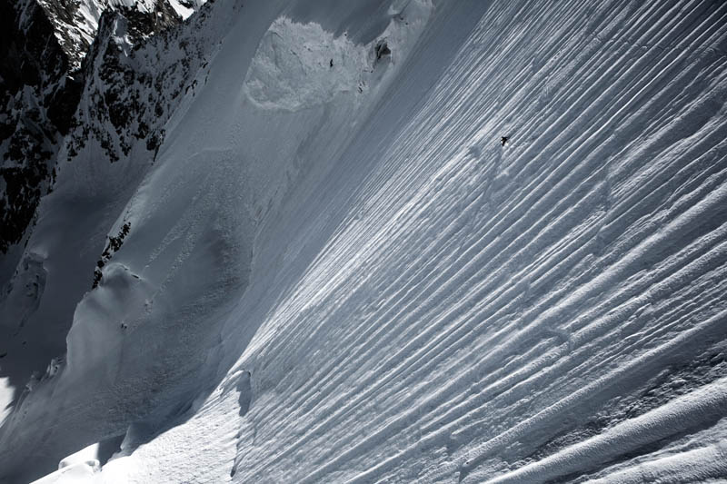 Jérémie Heitz performs in the Pennine Alps, Switzerland // Tero Repo/Red Bull Content Pool