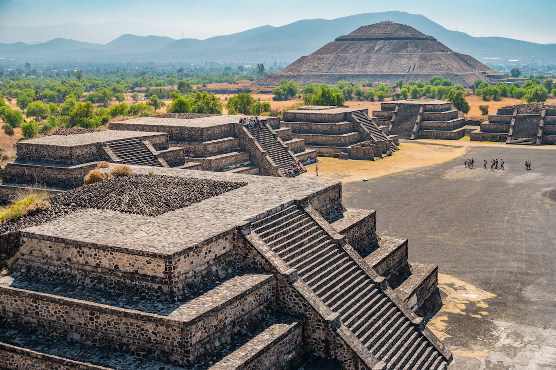 Teotihuacan pyramids Mexico City Mexico