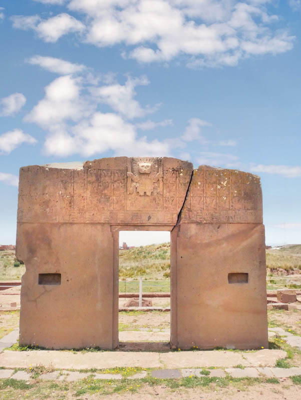 Sun Gate at Tiwanaku