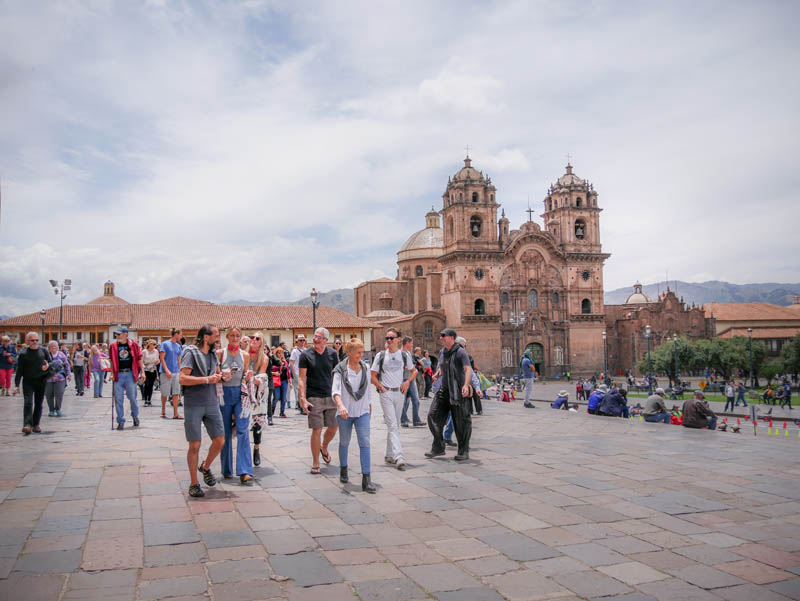 Cusco Peru walking tour