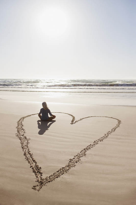 Revitalize Through Sound Therapy, Somatic Energy, Consciousness and Love With Bruce Lipton beach heart