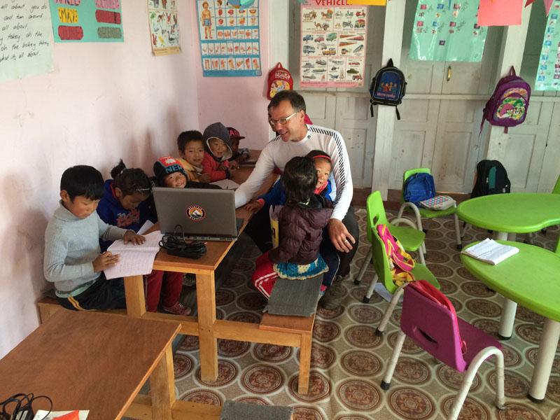 Kids Laptop Computer Teacher Class