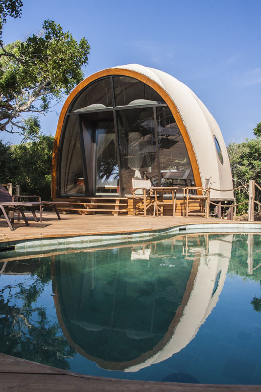 Redefining Sustainable Travel with the Earth-Friendly Structures of Nomadic Resorts