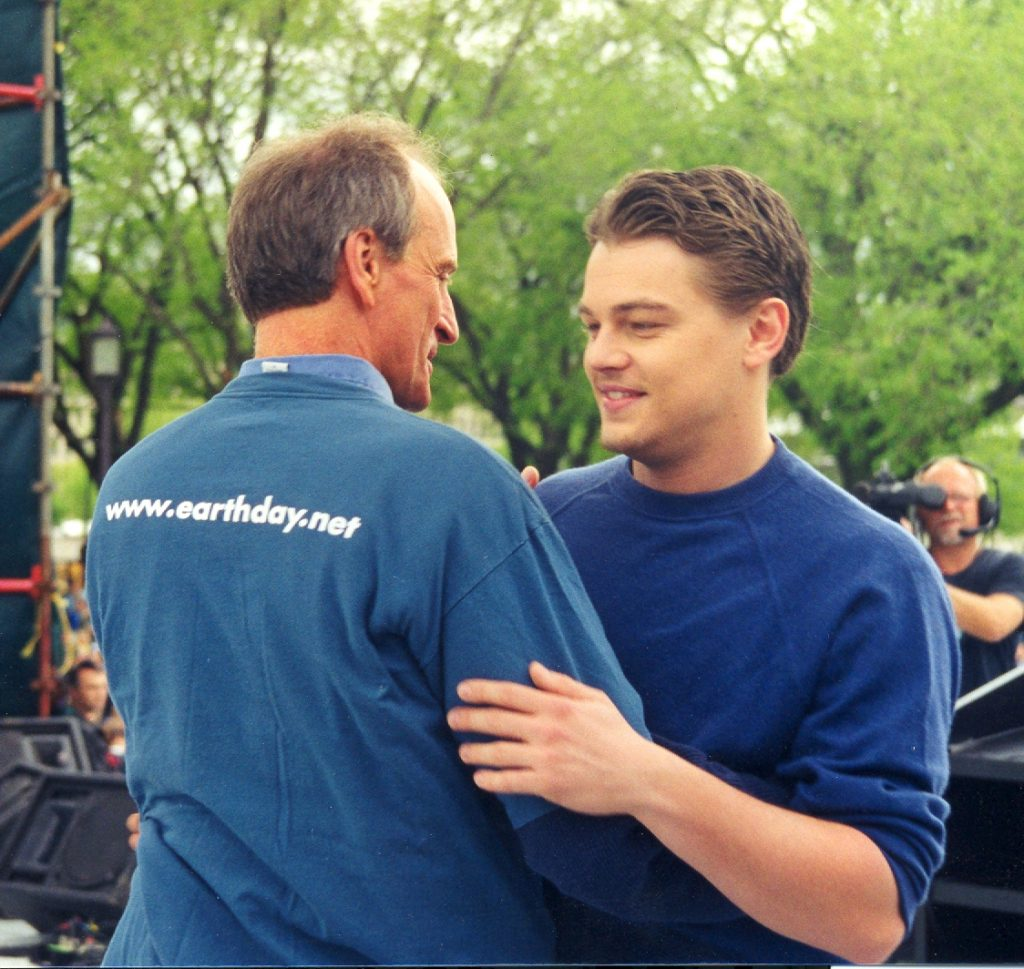 Earth Day Founder, Denis Hayes on the Global Evolution of the Environmental Movement Leonardo Dicaprio