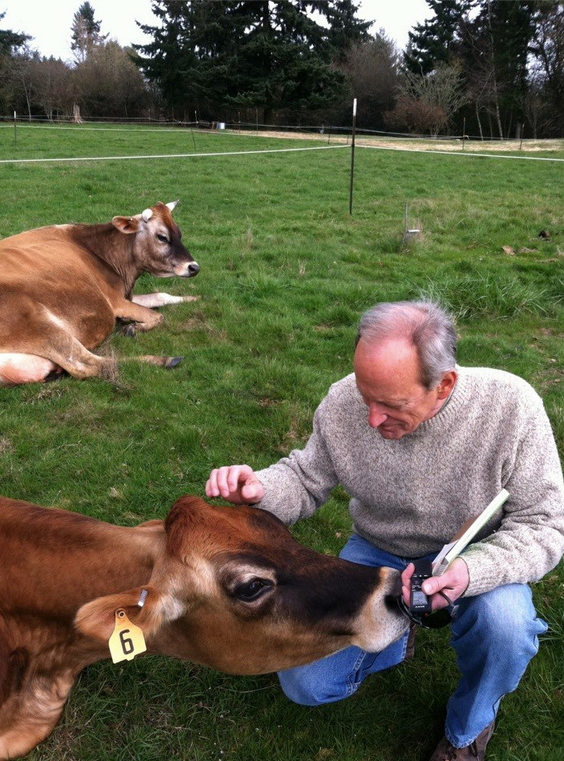 Earth Day Founder, Denis Hayes on the Global Evolution of the Environmental Movement Cow Test