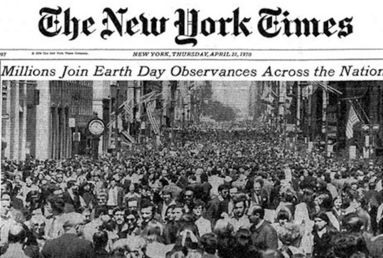 Earth Day Founder, Denis Hayes on the Global Evolution of the Environmental Movement New York Times