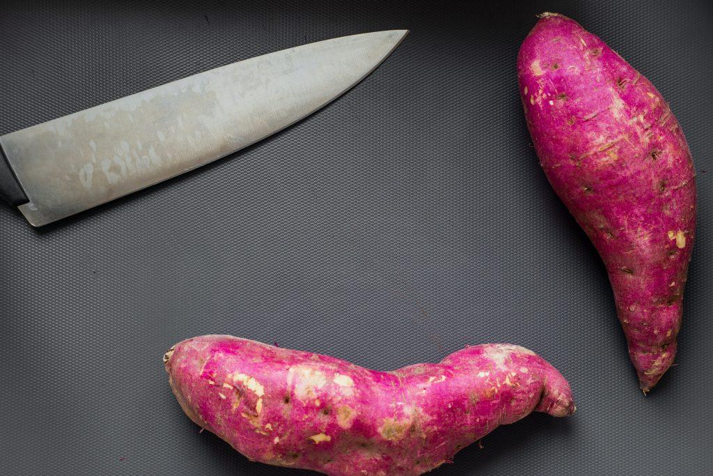 roast vegetable salad with tahini dressing sweet potato