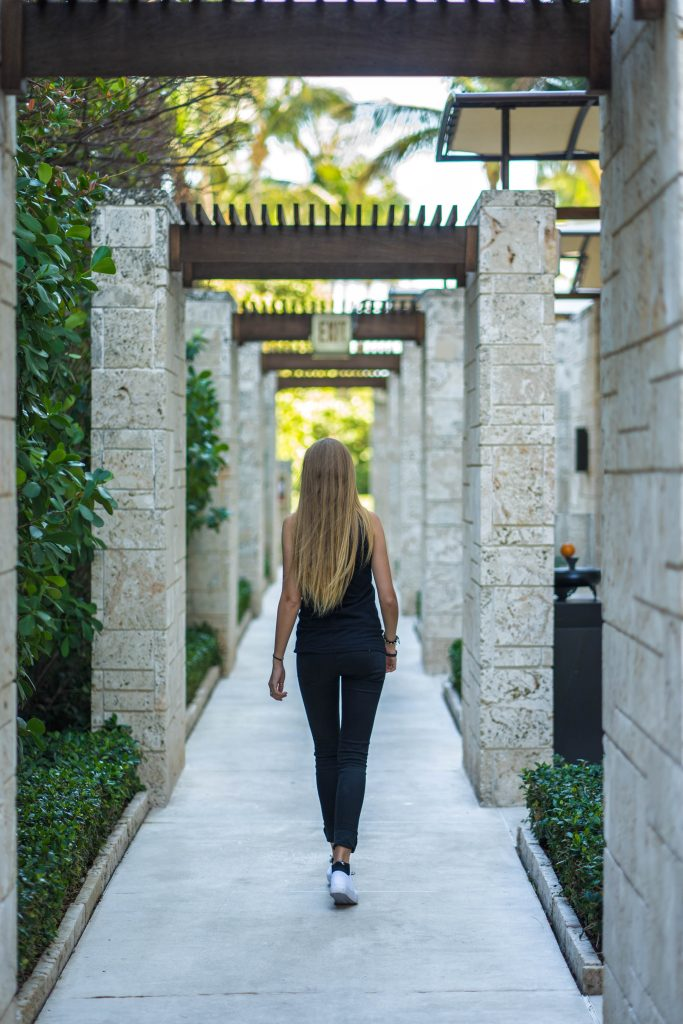 Get 'Purified' On Nature & Music With Nora en Pure Walking Away Stone Walkway