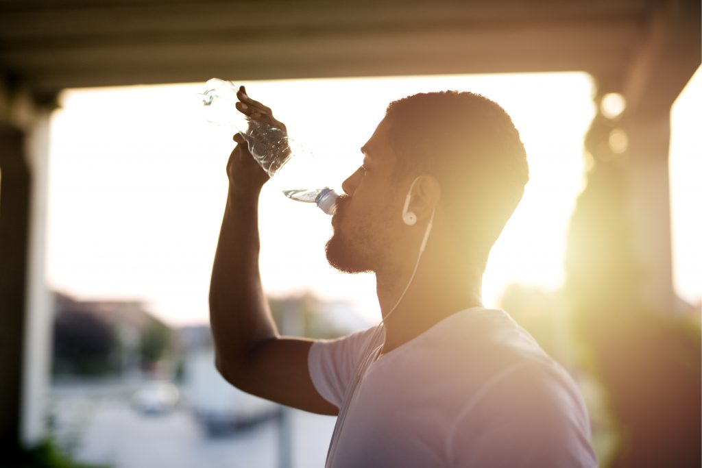 How Personal Hydration & Biodata can Improve Your Sauna Experience Drink Water Sunset