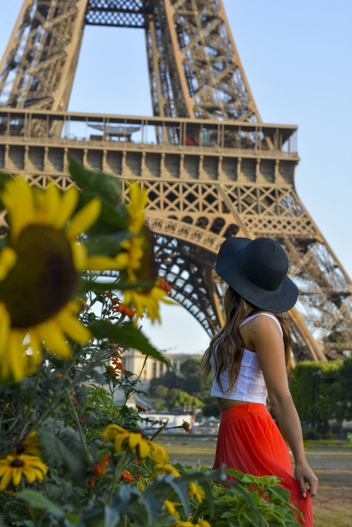 A Mindful Approach of Appreciating Our Surroundings with Kevin Eassa Eiffel Tower Girl Hat Flower