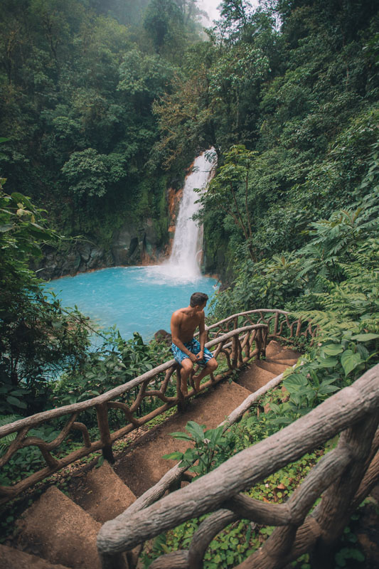 Tips to a Total Travel Experience & the Art of Connection with Amir Zakeri Waterfall Blue
