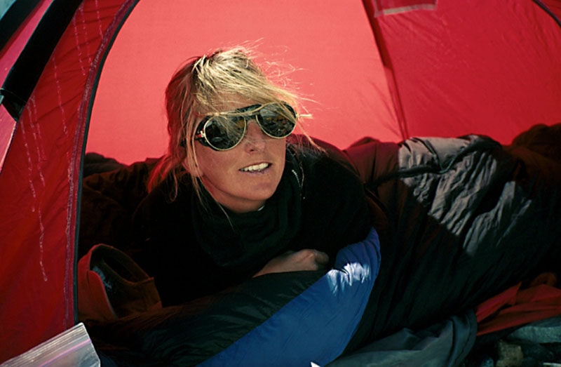 christine boskoff edge of the map book mountaineer climb tent