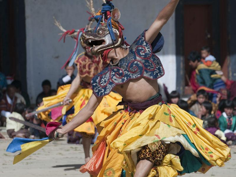 tibetan dance festival masks
