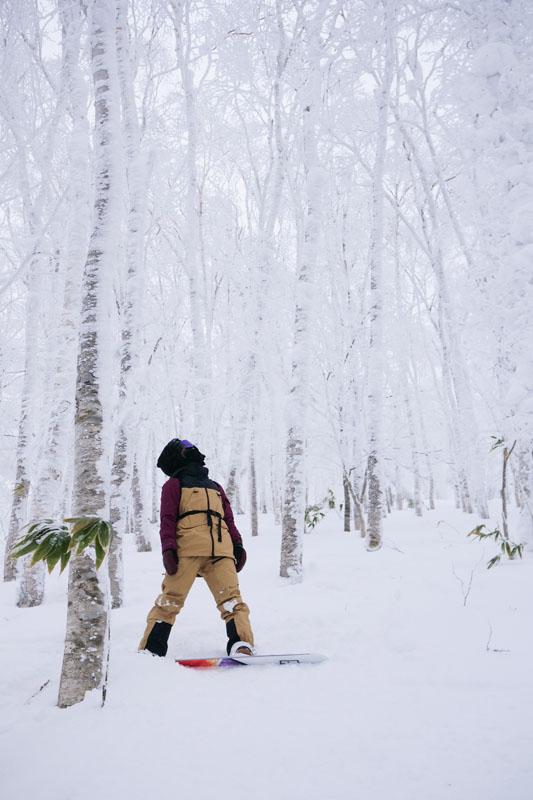 kjersti buaas snow mountain snowboard zeal optics