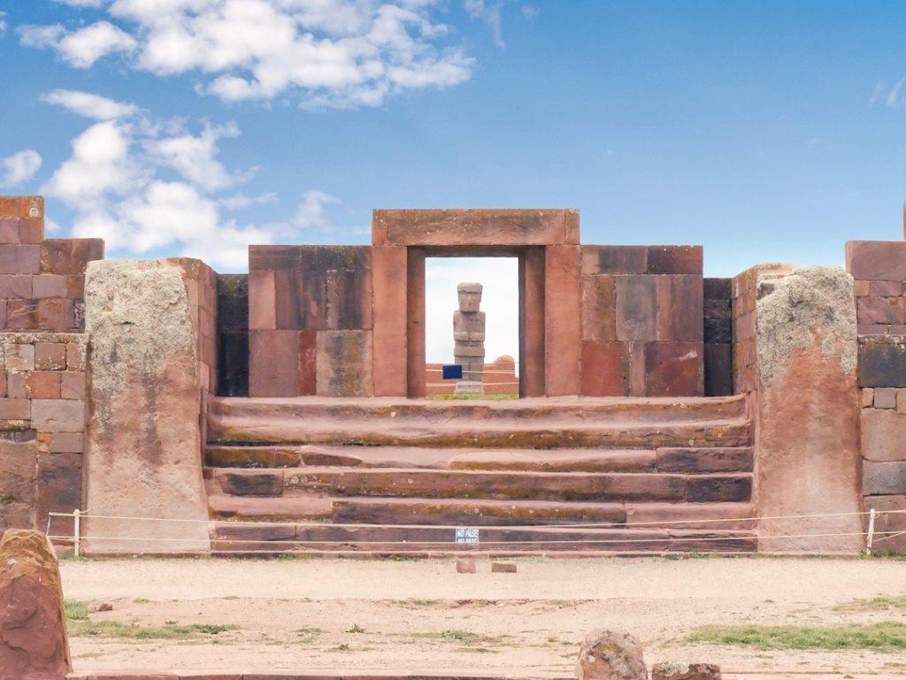 Tiwanaku Puma Punku Bolivia Peru